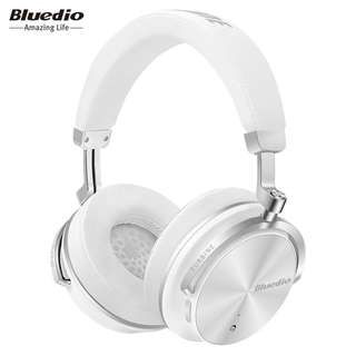 BLUEDIO T4S Active Noise Cancelling Wireless Bluetooth Headphones with Mic