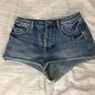 Topshop Denim Short