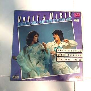 Donny and Marie Osmond-featuring songs from their television show.