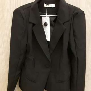 女裝時尚短款修身西裝外套