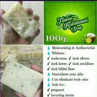 3 for P100 (Tawas kalamasi soap)
