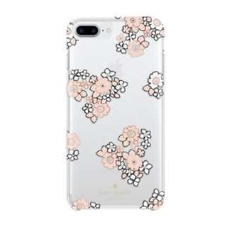KATE SPADE NEW YORK CLEAR CASE FOR IPHONE 6 PLUS/7 PLUS/8 PLUS