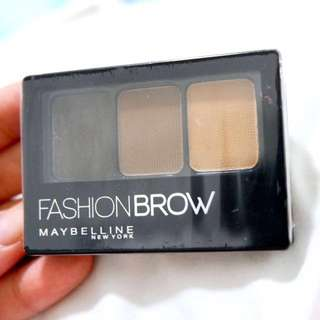 MAYBELLINE 3D FASHION BROW PALETTE (BRAND NEW)