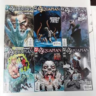 Aquaman The Waterbearer (2003 4th Series) Comics Set