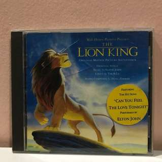 The Lion King Soundtrack Movie CD #Contiki2018