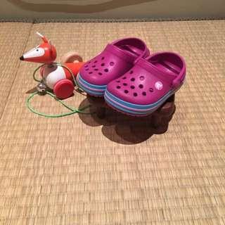 Crocs布希鞋(14cm)