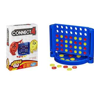 CONNECT 4 - GRAB AND GO by Hasbro