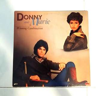 Donny and Marie Osmond (Winning combination album.)