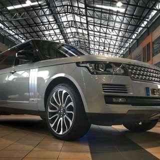 Range Rover 5.0 V8 Supercharged LWB (2 + 2 seater)