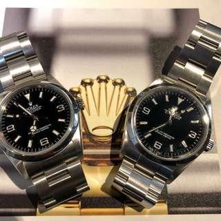 Rolex-木村錶!369!過年情侶錶!