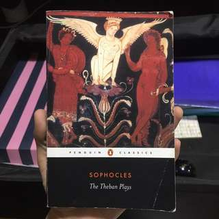 Sophocles- The Theban Plays