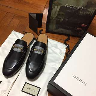 Gucci Princetown backless loafer 38.5