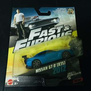 Nissan GT-R R35 Fast & Furious