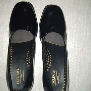 Sepatu PDH POLWAN KULIT LUX
