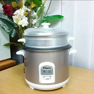 PowerPac 1.0L Premium Rice Cooker with Steamer
