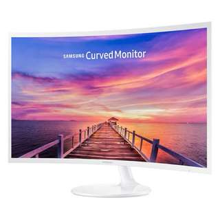 "32"" CF391 Curved LED Monitor LC32F391FWEXXS"