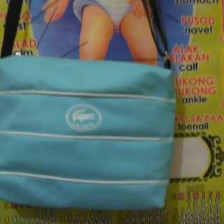 Lac0ste shoulder bag