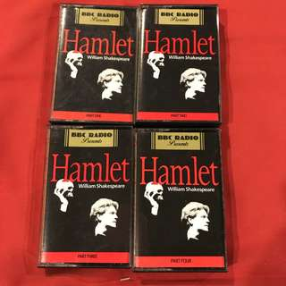 Hamlet (with Kenneth Branagh) by William Shakespeare (audio cassette recording)
