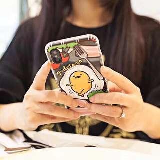 原裝正版蛋黃哥 Gudetama 防摔保護iPhone 手機殼 TPU空壓素材 更有掛繩孔設計  可選  i7/8/plus iPhone X