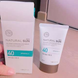 FaceShop Natural Sun Eco No Shine Hydrating Sun Cream 50ml