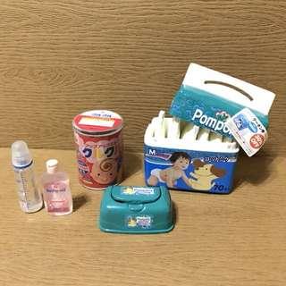 Re-Ment寶寶嬰兒用品 異色 盒玩 食玩