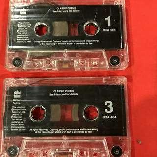 Classic poems  (audio cassette recording)