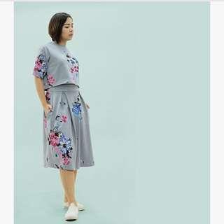 Grey Floral Boho Coordinates