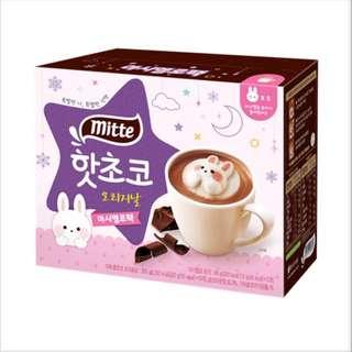 韓國兔子棉花糖朱古力奶