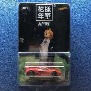 bts jimin hotwheel limited edition collection