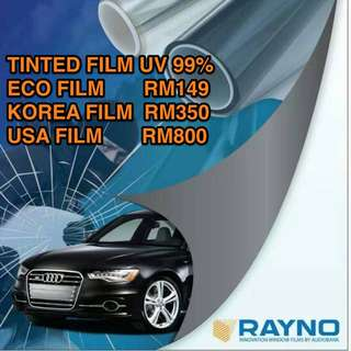 Tinted UV Film