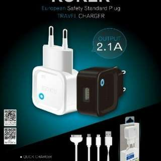 charger roker 2A