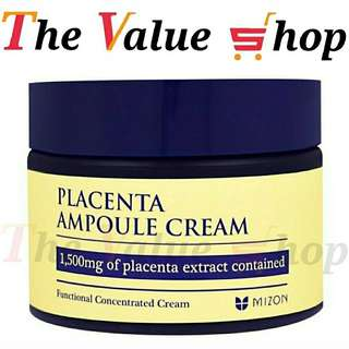 Sales ! Placenta apmoule cream, 1500mg of Placenta extract contained