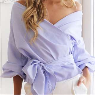 Off shoulder blouse / Sabrina / Kimono Top