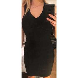 Black REISS bodycon dress - gorgeous!