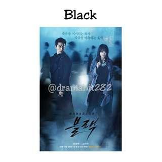 DVD Drama Korea Black