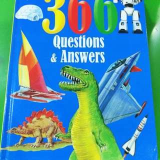 Educational 366 Questions & Answer Book