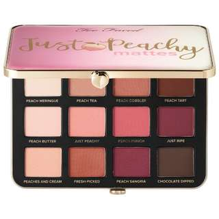 🔥💄 [PROMOTION] Too Faced Just Peachy Mattes Eyeshadow Palette