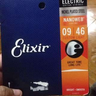 Elixir Electric Guitar strings guage #9