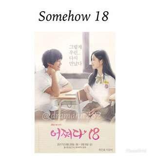 DVD Web Drama Korea Somehow 18