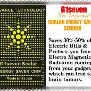 SCALAR ENERY SAVER STICKER