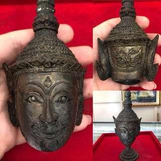 !($368)! - (PREORDER) - Thai Amulet - Rare Sian Phra Lak Nha Thong - Lp Galong - Thai Amulets - Bucha
