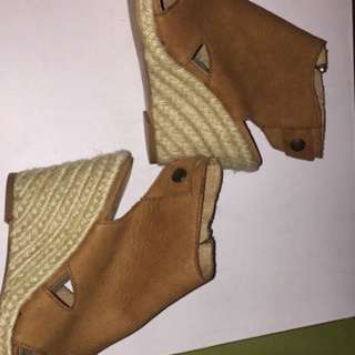 Women's leather wedges from Browns