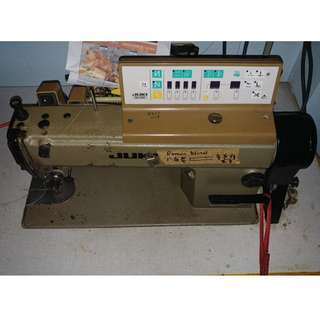 LOWEST $$ IN TOWN  x2 Sewing Machines Perfect Working Condition + 5 Rolls of Fabric !