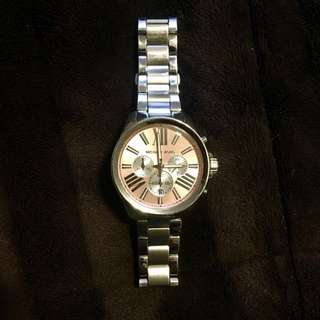 Michael Kors Authentic silver watch