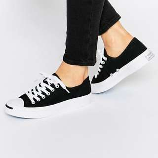 Jack Purcell black canvas