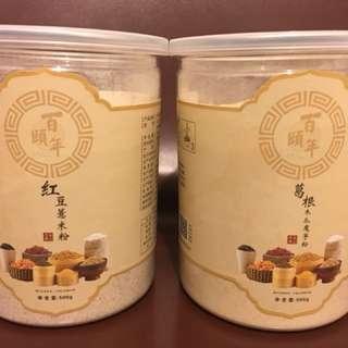 百頤年 葛根木瓜魔芋粉 + 紅豆薏仁粉
