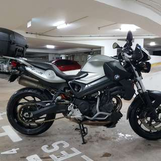 Register PML BMW F800R