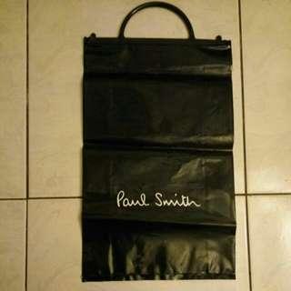 Paul Smith 黑色塑膠購物提袋