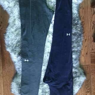 Under Armour Cold Gear Leggings Size Small