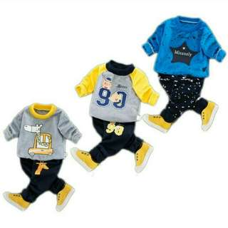 PAJAMAS KIDS CLOTH SET